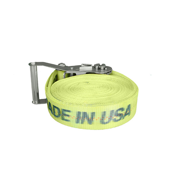 yellow ratchet strap 3333 pound capacity