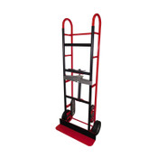 Red Aussie Steel Appliance Truck With Ratchet Strap 750 Pound Capacity