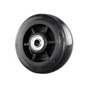 6 Inch Hard Rubber Wheel For Bulldog Appliance Truck